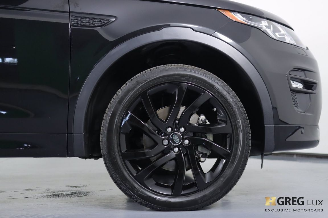 2018 Land Rover Discovery Sport HSE #10