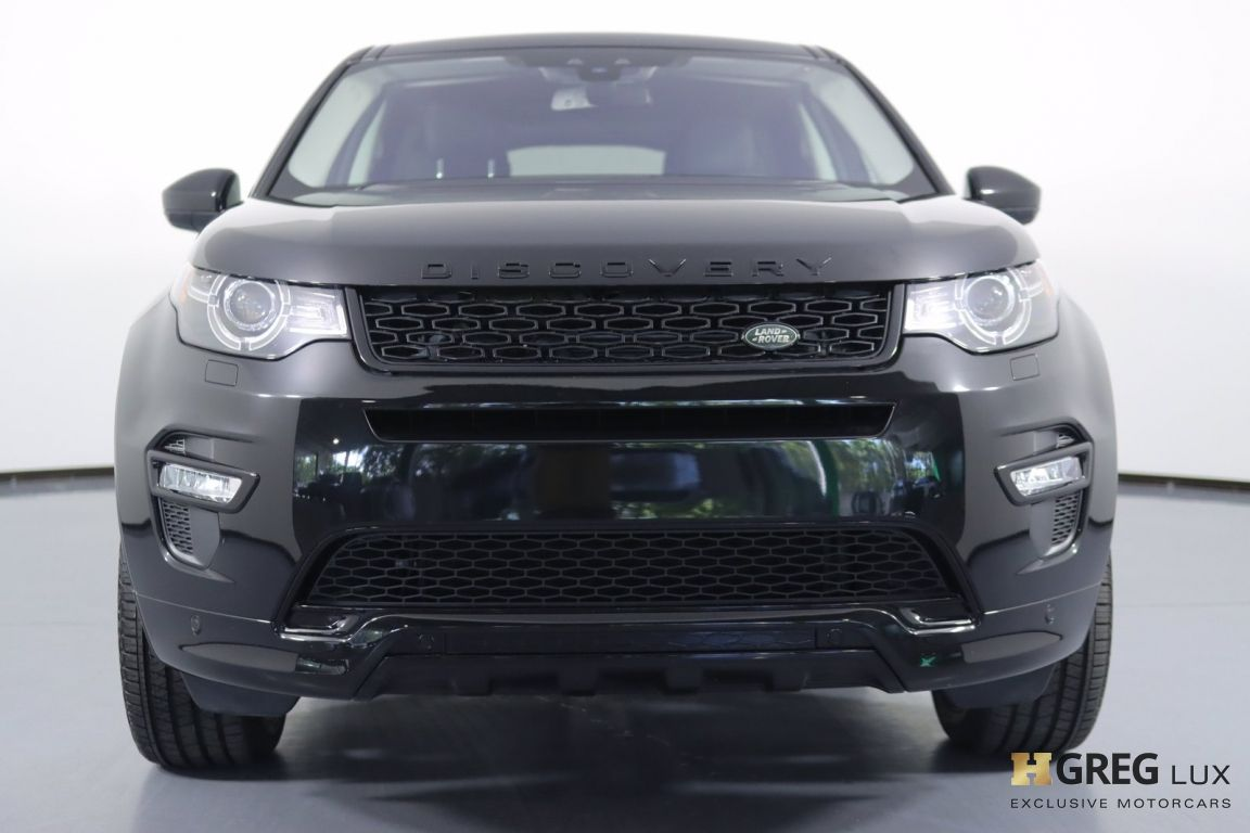2018 Land Rover Discovery Sport HSE #3