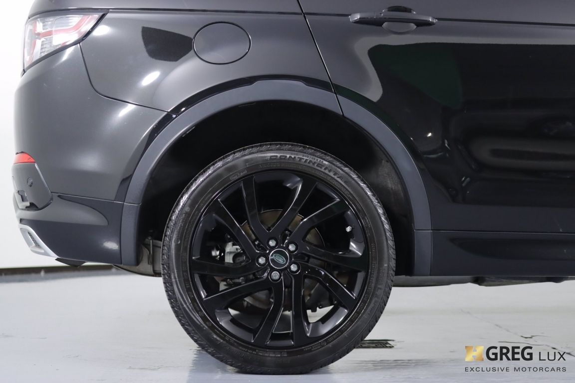2018 Land Rover Discovery Sport HSE #12