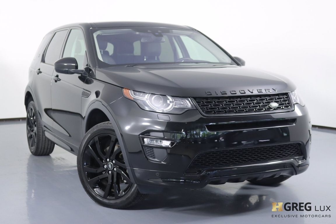 2018 Land Rover Discovery Sport HSE #0