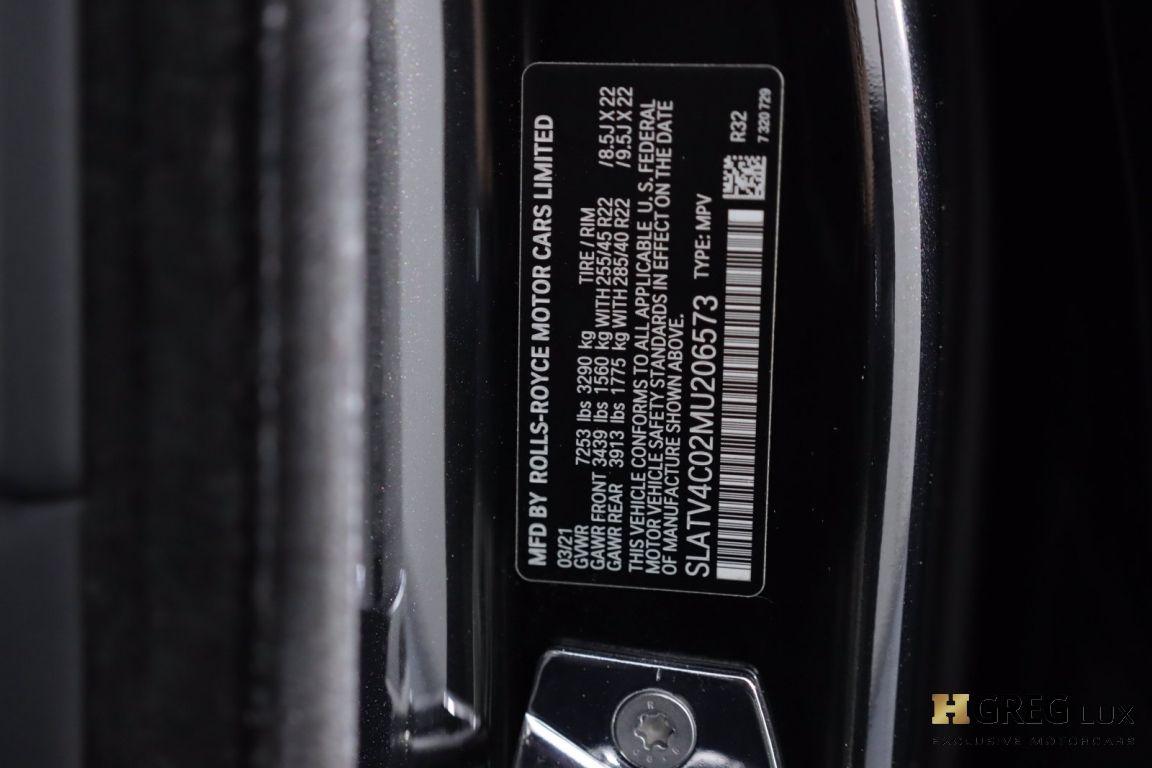 2021 Rolls Royce Cullinan  #50